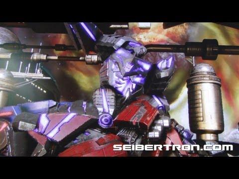 Transformers Fall of Cybertron Final Scene - Megatron vs Optimus Prime