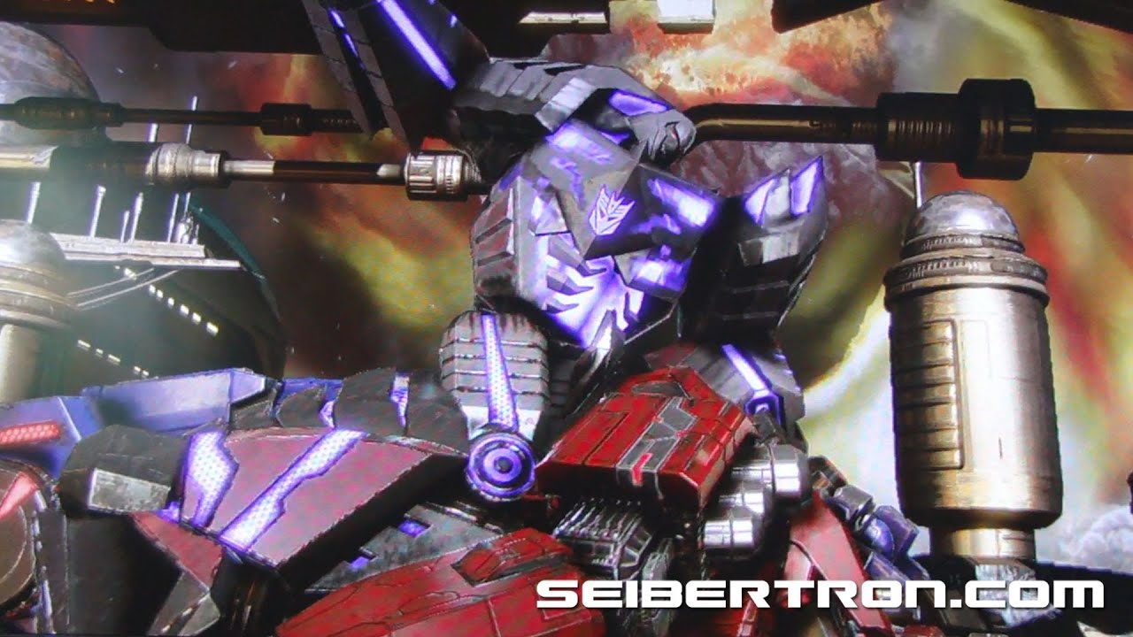 transformers fall of cybertron final scene megatron vs optimus