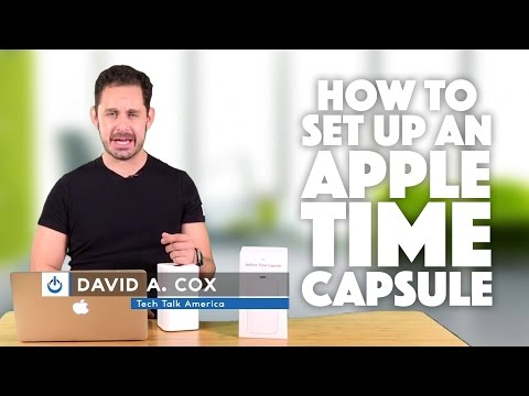How to Setup An Airport Time Capsule