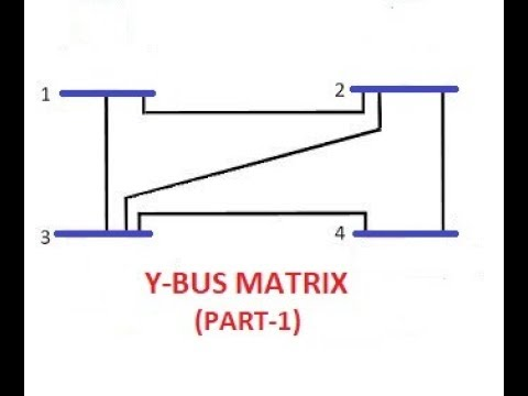 Y-BUS MATRIX (PART-1) (CONSTRUCTION OF Y-BUS) GATE/IES/ISRO/BARC