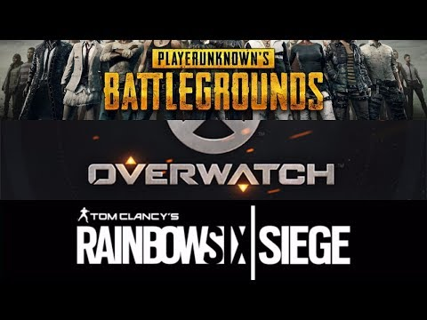 RAINBOW 6 SIEGE AND SOME PUBG. HOWBADAH?
