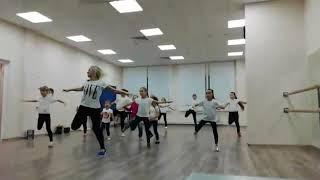 Танцевальная аэробика для детей Первоуральск с Гордеевой Татьяной