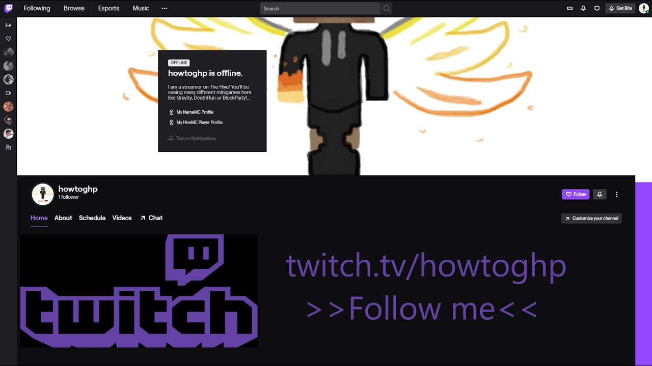 I am now streaming on Twitch