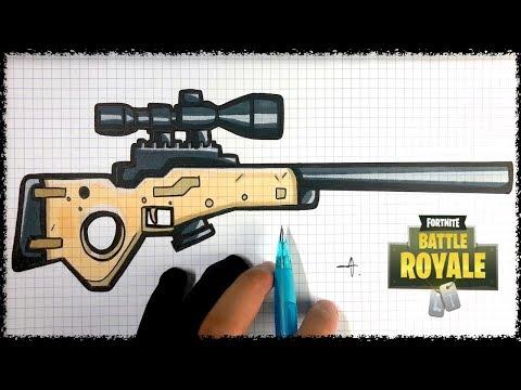 Tuto Dessin Sniper Fortnite Youtube