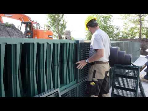 Rigofill ST: Installation Of Detention/infiltration Units | FRÄNKISCHE