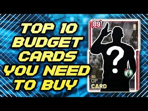 TOP 10 Budget Cards You NEED TO BUY In NBA 2K19 MyTEAM!!