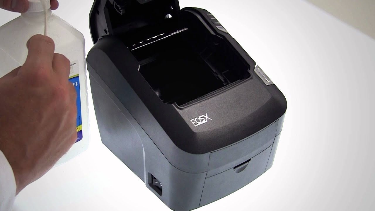EVO Thermal Printers: Cleaning the Print Head