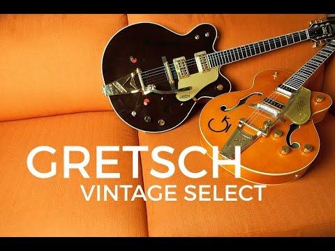 Gretsch Vintage Select Demo With Dennis DelGaudio