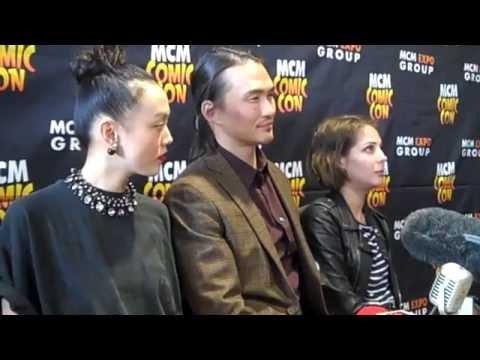 Arrow Interview - Willa Holland, Rila Fukushima & Karl Yune at MCM London Comic Con 2015