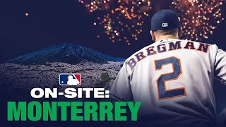 On-Site for Angels-Astros in Mexico! (Alex Bregman, Mike Trout and more!) thumbnail