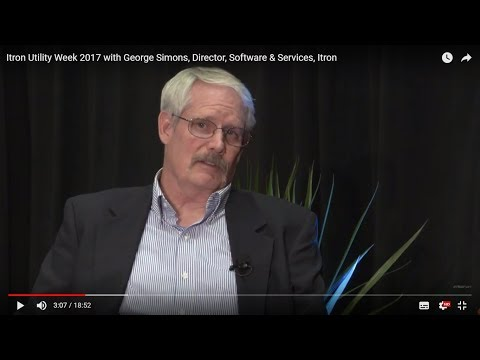 Implementing DER technologies with George Simons (Itron Utility Week 2017)