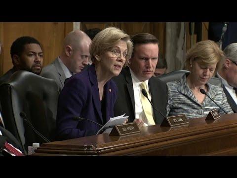 Warren challenges Trump