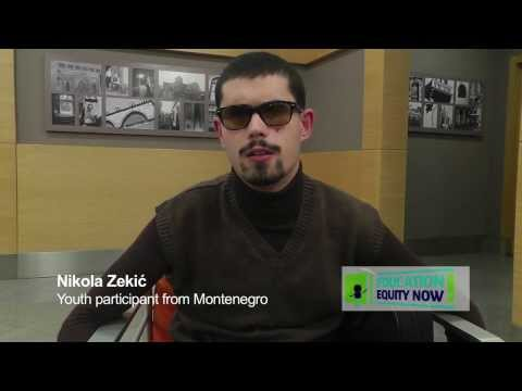 #EducationEquity - Introducing Nikola from Montenegro