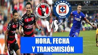¡¡HORA, FECHA Y TRANSMISIÓN DE LOS OCTAVOS DE FINAL ENTRE XOLOS VS CRUZ AZUL COPA MX 2018!