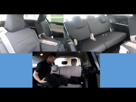 How To Install OEM Seat Covers In The Honda Odyssey
