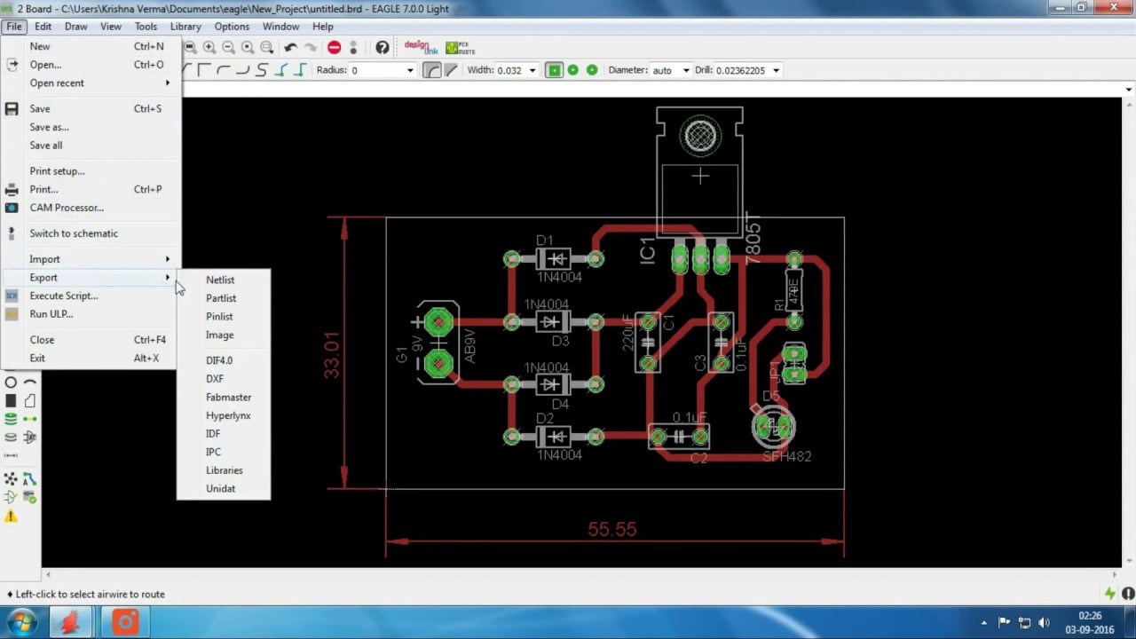 5V DC Power Supply Circuit Design Using Eagle (Part II) - YouTube