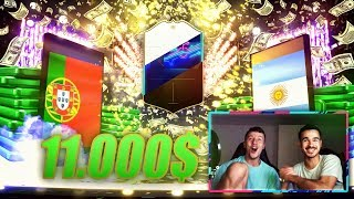 FIFA 19 : BEST OF 2000€ PACK OPENING 🔥🔥 11.000$ SPENDE 😱😱