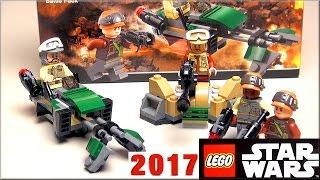 LEGO Star Wars 75164 Боевой набор Повстанцев  Обзор Rebel Trooper Battle Pack