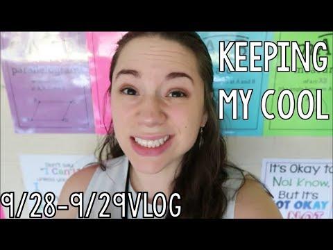 Keeping My Cool | HS Teacher Vlog #5