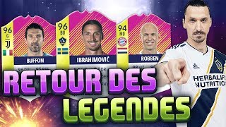 FIFA 18 - ON PACK 2 FESTIVAL OF FUTBALL ET ON TESTE IBRAHIMOVIC, ROBBEN ET RIBERY CLASSIC HEROES !