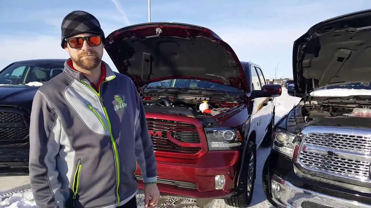 Dodge Ram 1500 Ecodiesel >> Where to find the Block Heater Cord on the 2018 Ram 1500 3 ...