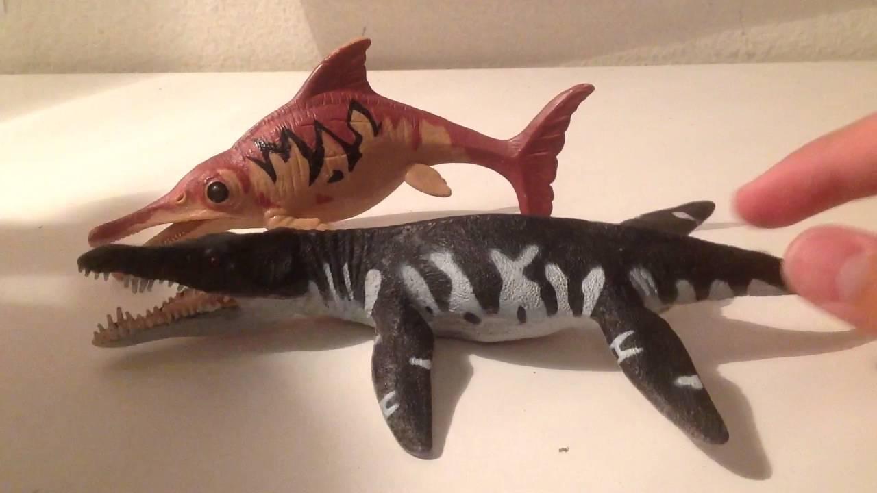 Prehistoric & Dinosaurs Plesiosuchus Liopleurodon Kin Marine ...