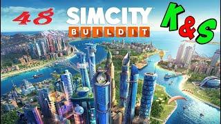 Прохождение игры SIMCITY Сим Сити Серия 48 Райский город Строим горнолыжный курорт в раю