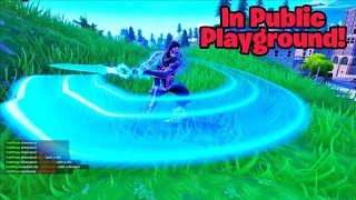 Get the INFINITY BLADE in public playground (Insane glitch) Fortnite glitches season 8 PS4/Xbox one