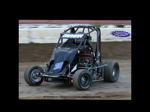 #28X Micro Sprint car Ryan Graham Delta Speedway 09-02-2017
