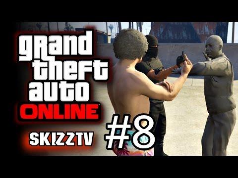 (Skz) GTA V online #8 - คู่เกรียนซ่า!! ฮาขี้แตก ft.Opztv