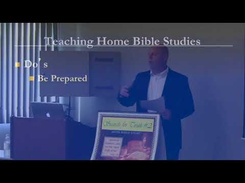 Bible Study Teacher Training Lesson 2