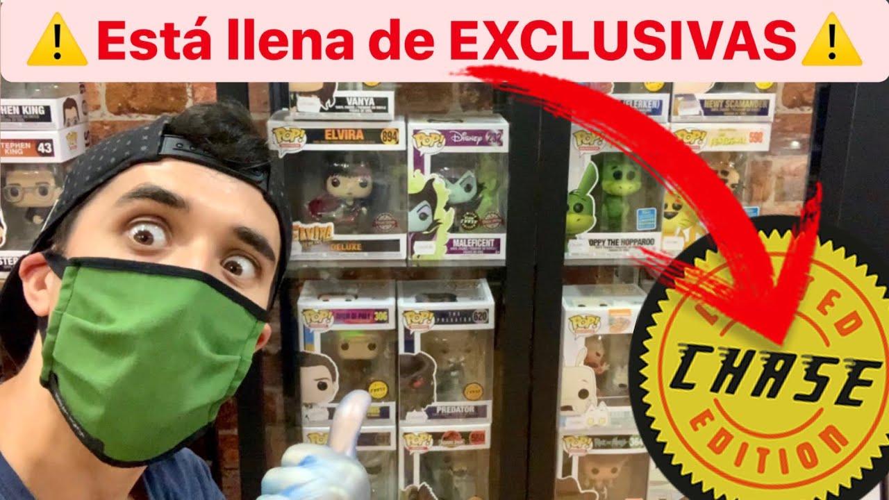 Esta tienda INCREÍBLE tiene MÁS de 100 FIGURAS EXCLUSIVAS ⚠️cazando funko pop CHASE Y EXCLUSIVOS⚠️