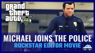 GTA V - Michael joins the police!