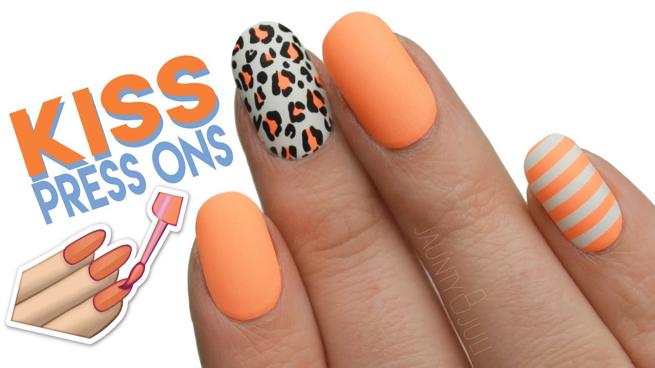 Kiss \'The Collection\' Press On Nails | First Impressions + Demo ...