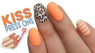 Kiss 'The Collection' Press On Nails | First Impressions + Demo