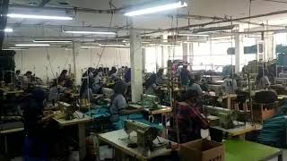 We are manufacturing luggage machine, Indonesia customers luggage factory in