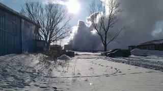 Караганда Майкудук авария( прорвало горячую воду) 10.01.2020