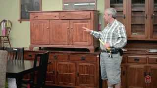 Colonial And Traditional Cherry Servers Sideboards Buffet Custom Made