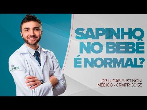SAPINHO NO BEBÊ É NORMAL? Entenda Agora! - Dr Lucas Fustinoni - Médico - CRMPR 30155