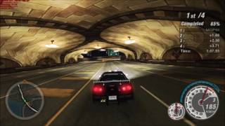 Need For Speed Underground 2 - Stage 5 Race 14/35 [1080p60 - GTX 1080 - 138/210]