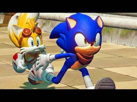 Sonic Boom Rise of Lyric #01: Primeira Gameplay - Exclusivo Nintendo Wii U