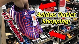 Predators and f50 for less than 30! - adidas and nike soccer cleats/football boots outlet shopping