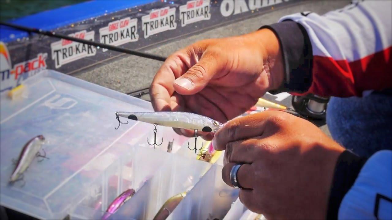 Spring Time Jerk Bait Fishing Tips
