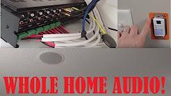 WHOLE HOME AUDIO: Monoprice Whole Home Audio Amp! 6 Zone 6 Source