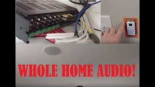 WHOLE HOME AUDIO: Monoprice Whole Home Audio Amp! 6 Zone 6 Source