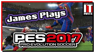 James plays | pro evolution soccer 2017