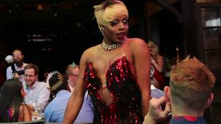 CALYPSO JETE PERFORMING AT THE ABBEY WEHO | TMZ TOURS THE WORLD FAMOUS GAY BAR | DRAG BRUNCH