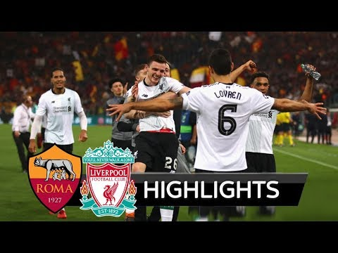 Roma vs liverpool 4-2 - highlights & all goals champions league hd (fan view)