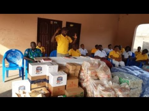 SVA Members Donate Food And Other Items To Inmates At Ho Leprosarium