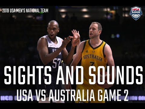 SIGHTS AND SOUNDS // USA VS AUSTRALIA GAME 2 IN MELBOURNE